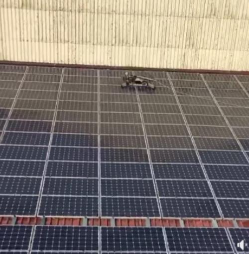 Nettoyage de 1 000 m² de panneaux photovoiltaïques -Loire-Atlantique