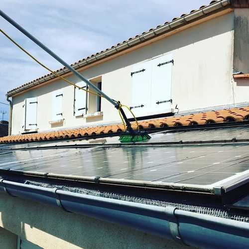 Nettoyage panneaux photovoltaïques - Pariculiers