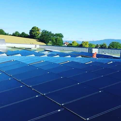 Nettoyage de panneaux solaires à Mulhouse
