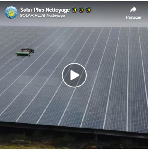 Vidéo : comment nettoyer 5 000 m² de panneaux photovoltaïques ?