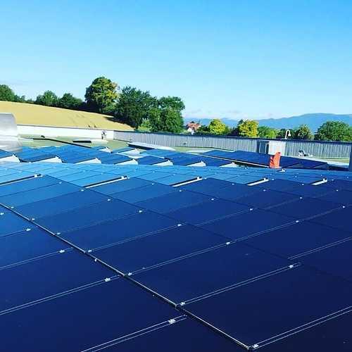 Nettoyage de panneaux photovoltaïques à Reims 0
