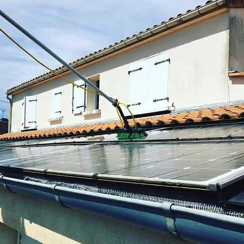 Nettoyage panneaux photovoltaïques - Pariculiers 0